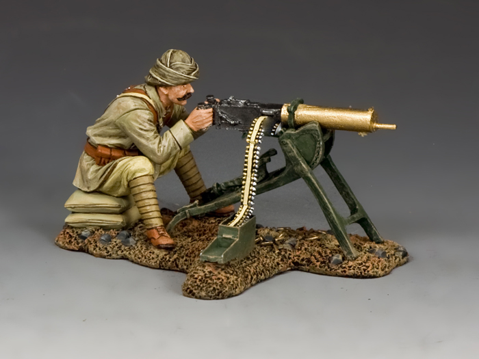 Turkish Machine Gunner