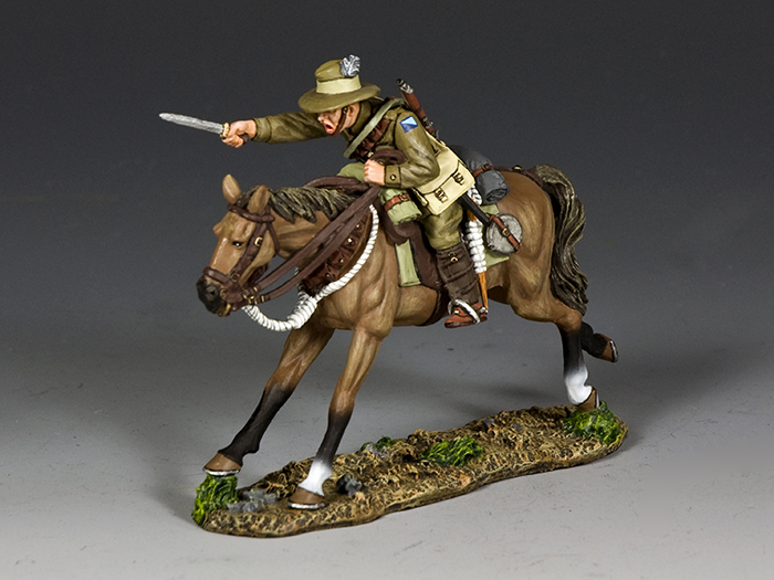 Australian Light Horse Trooper Charging w/Bayonet
