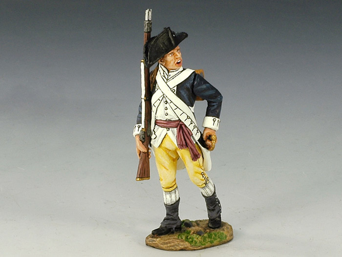 Sergeant with Rifle Marching