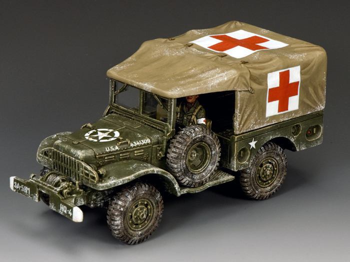 DODGE WC51 Weapons Carrier (Winter Ambulance)
