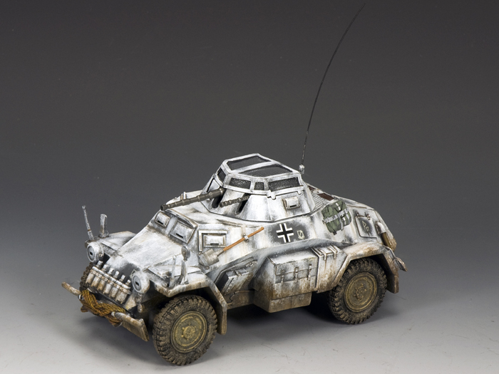 Sd. Kfz. 222 Armoured Car (Winter camouflage)
