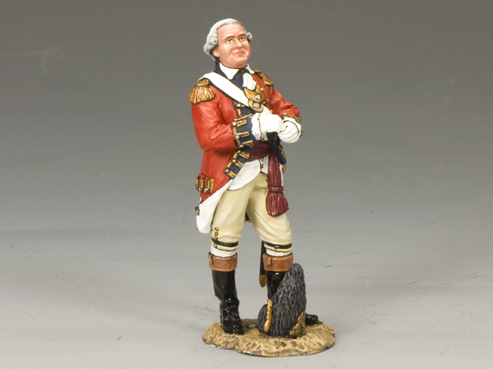 Royal Welch Fusilier Officer w/ Gloves
