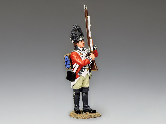 Royal Welch Fusilier Making Ready