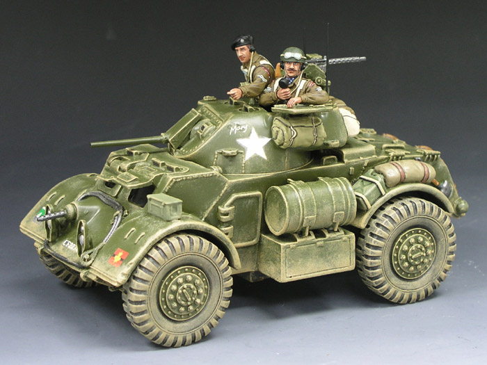 Staghound Amoured Car Set