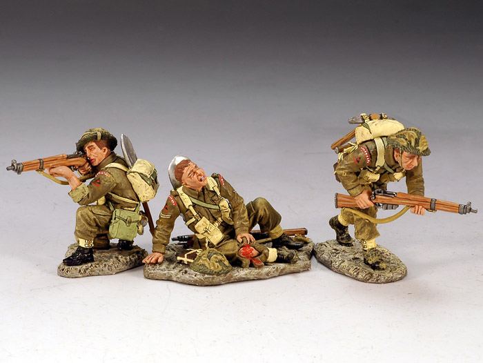 British 3rd. Infantry Division, Attacking!