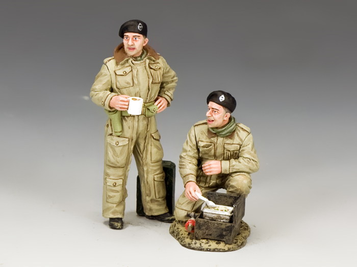 British Dismounted AFV (Armoured Fighting Vehicle) Crew Set #2