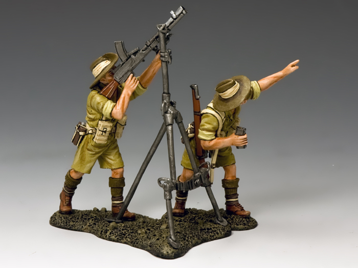 Aussie Anti-Aircraft Bren Gun Team