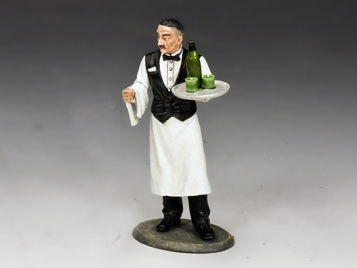 French Waiter W Vichy Water King Amp Country