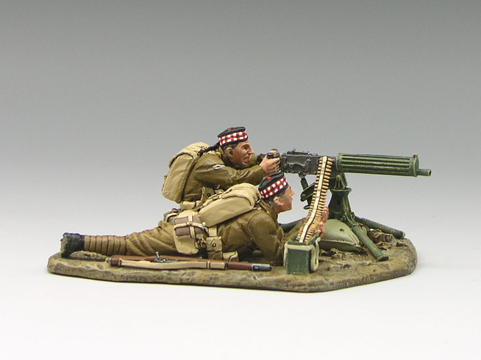 Vickers Machine Gun Set