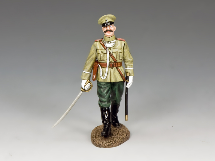 WWI Imperial Officer Marching