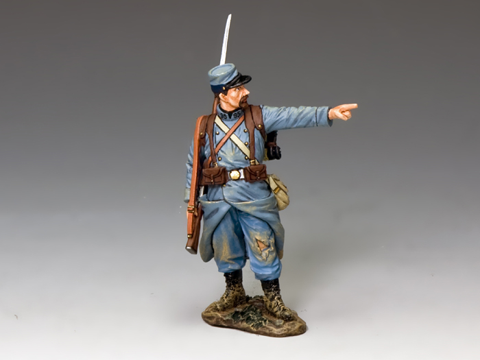 The Pointing Poilu, WWI French