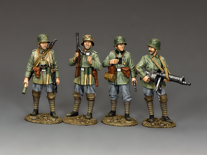 The Sturmtruppen Set (4 figure set)