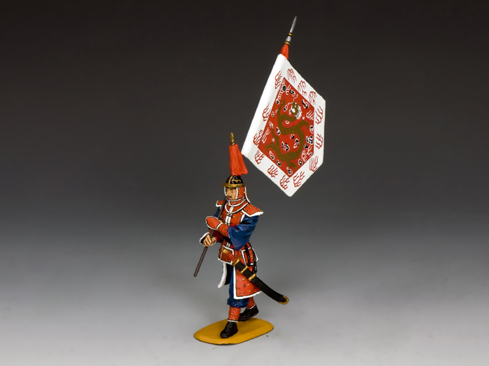 Marching Flagbearer