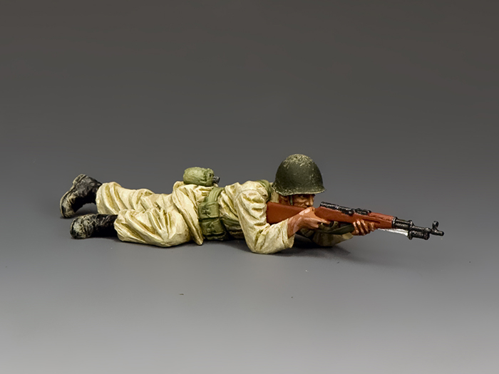 Egyptian/Syrian Soldier Lying Prone