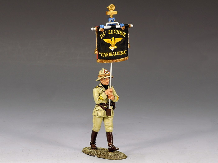 Italian Forces, Marching Flagbearer