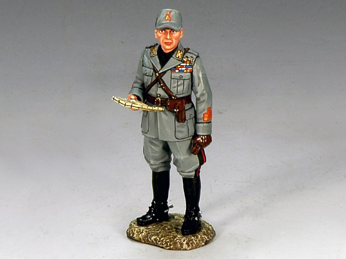 Italian Forces, Officer with Map