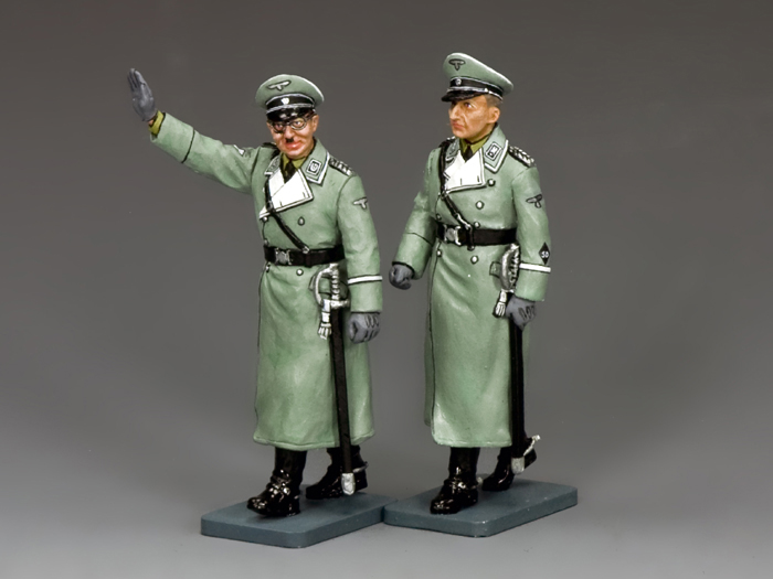 """Himmler & Heydrich... The Deadly Duo"" (Grey version)"