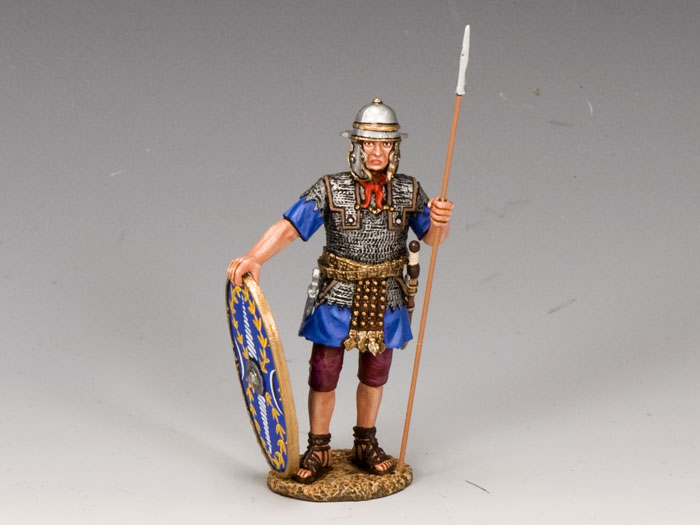 Roman Auxiliary w/ Shield and Spear