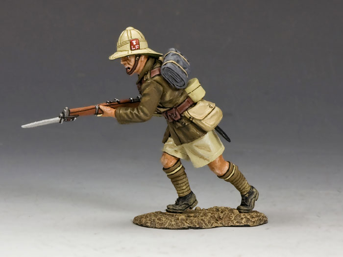 Charging (Lancashire Fusiliers, Middle East Campaign)