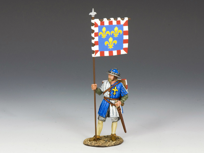 Royal Man-at-Arms with Banner