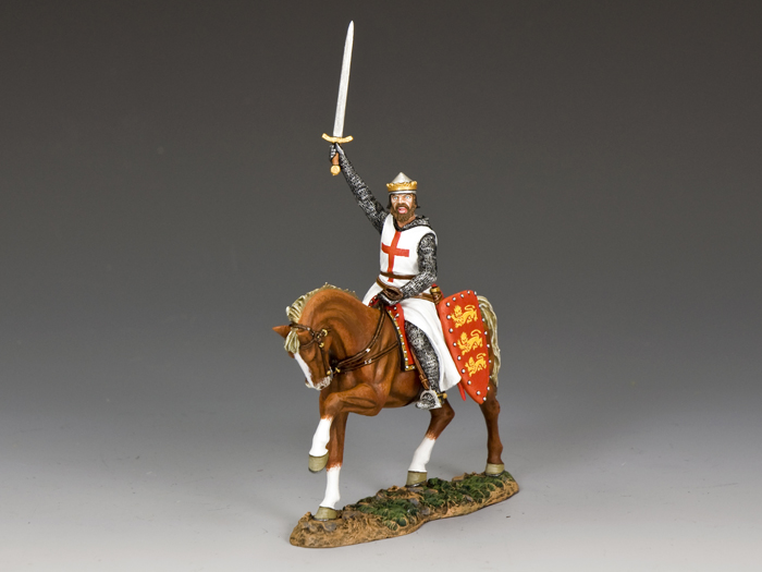 Richard the Lionheart (mounted)