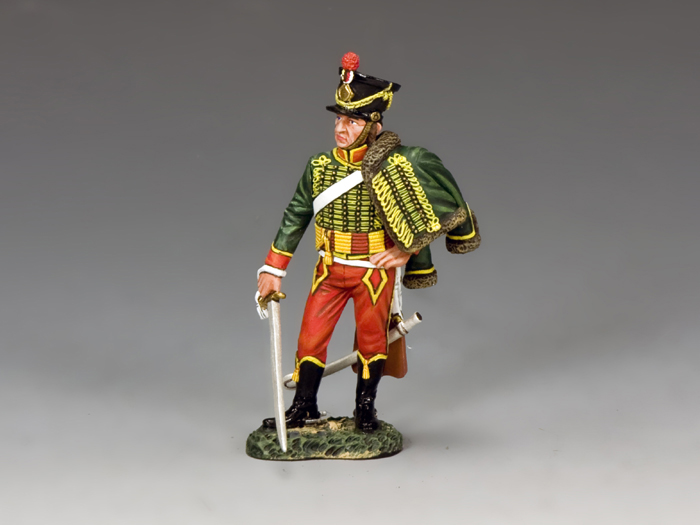 Napoleonic 7th Hussar With Sabre Drawn (KnC Xclusive)