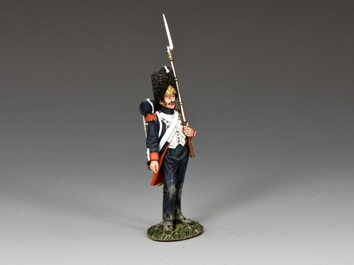 �Old Guard� Shoulder Arms (w/musket on the left arm)