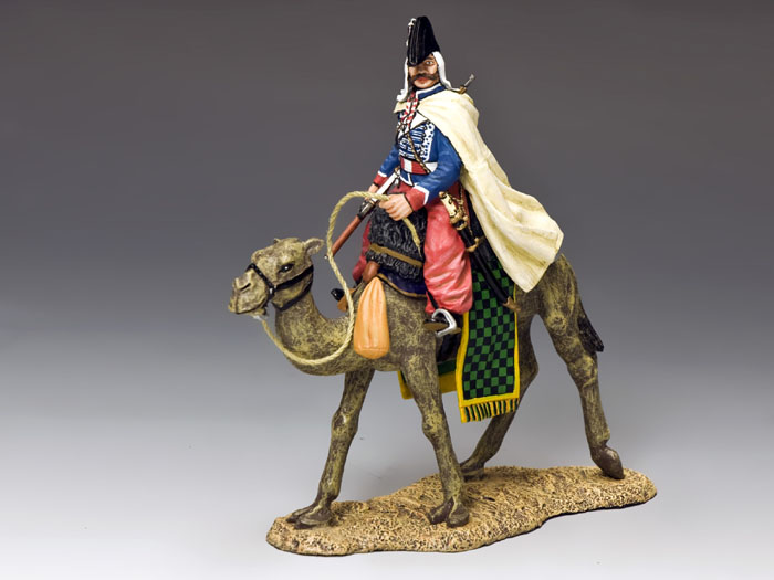 Camel Cavalier with Baggy red pantaloons