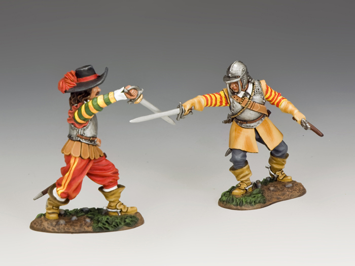 English Civil War Duellists