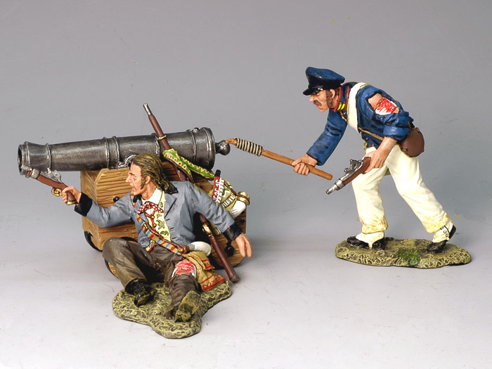 Naval Cannon & Musket Set