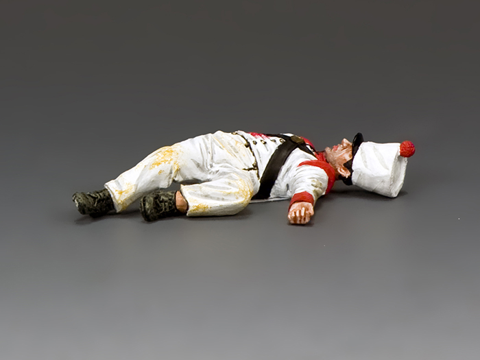 Lying Dead Mexican Soldier (face up)