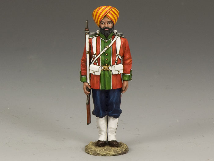 Ludhiana Sikhs Regiment Standing At Attention (Gloss)