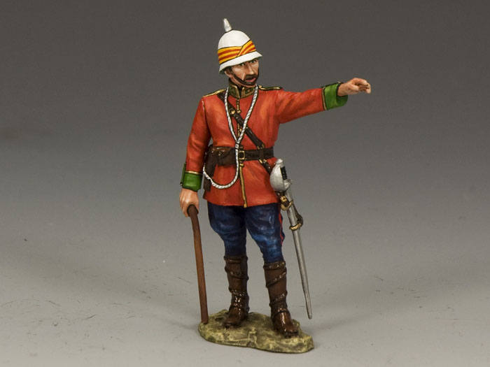 Standing Ludhiana Sikhs Regiment British Officer(Gloss)