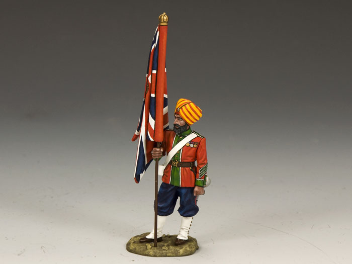 Ludhiana Sikhs Regiment Queen's Colour Flagbearer