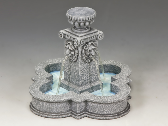 Four Lions Town Fountain (Greystone)