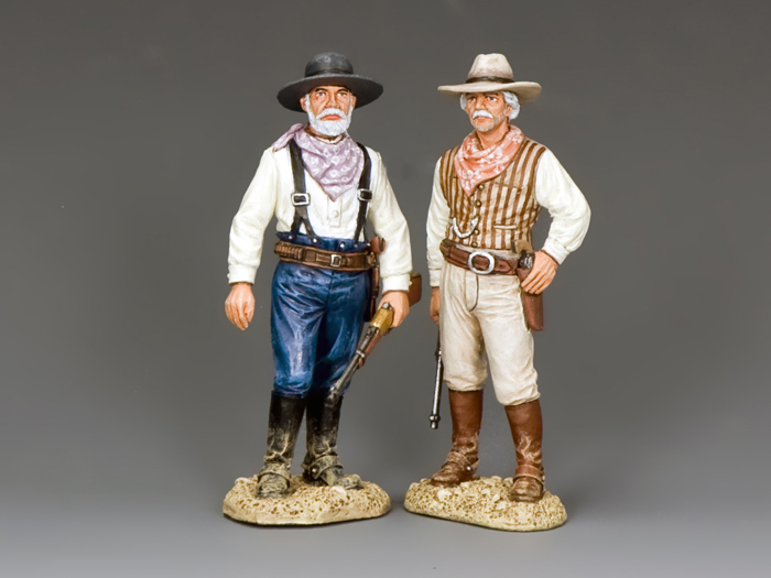 Two Old Texas Ranger Captains