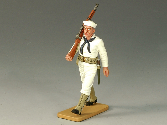 Sailor Marching w/ Rifle