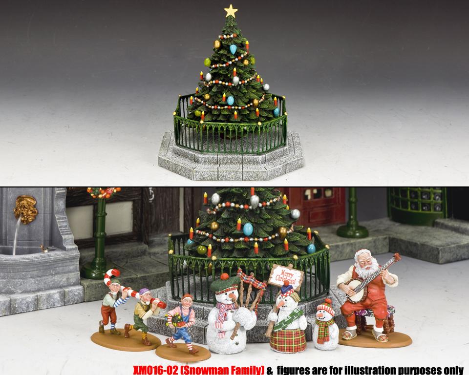 xm016 03 dickens village christmas tree 9900 - Xm Country Christmas
