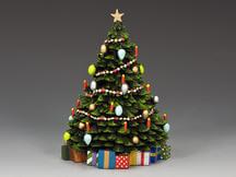 Christmas Tree w/ Christmas Present