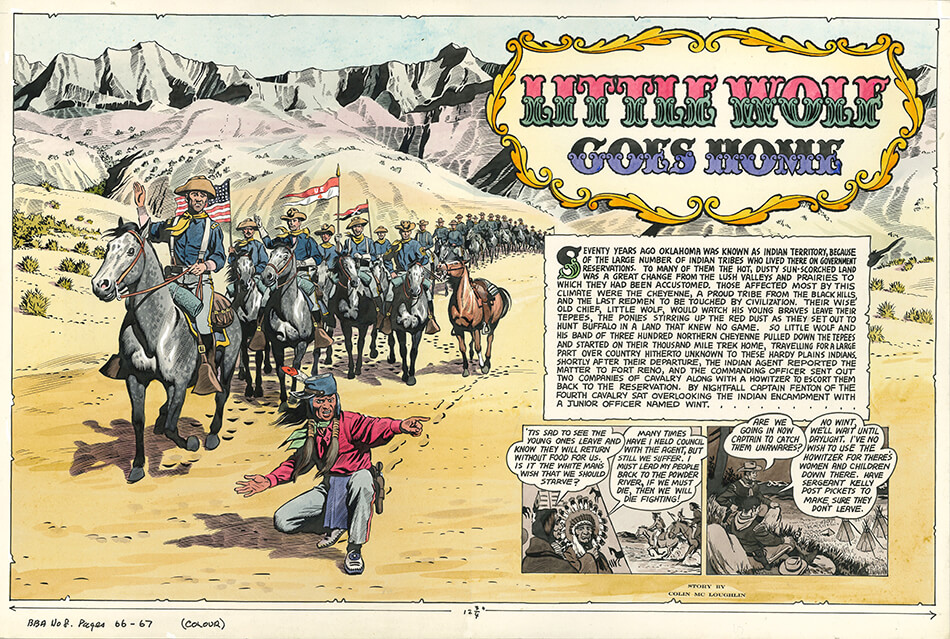 JOHN FORD'S MOUNTED U.S. CAVALRY