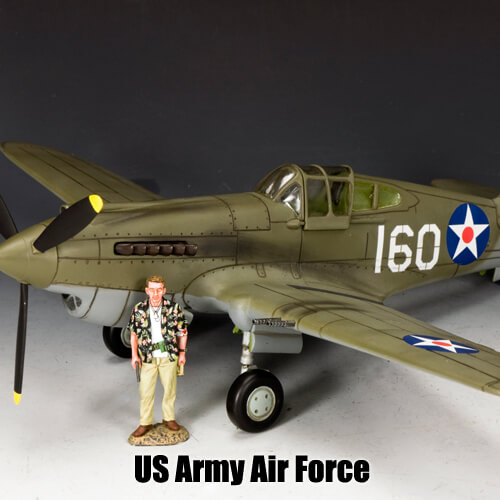 US Army Air Force_King & Country Toy Soldiers