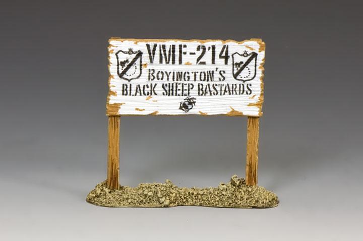 AF038 VMF-214 Signpost