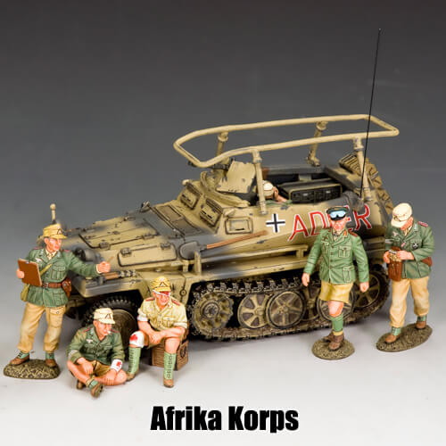 Afrika Korps_King & Country Toy Soldiers