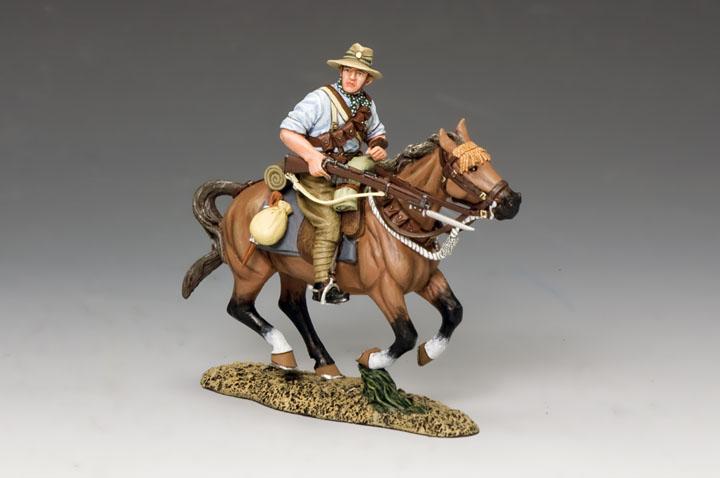 AL074 Mounted Kiwi Charging with Rifle