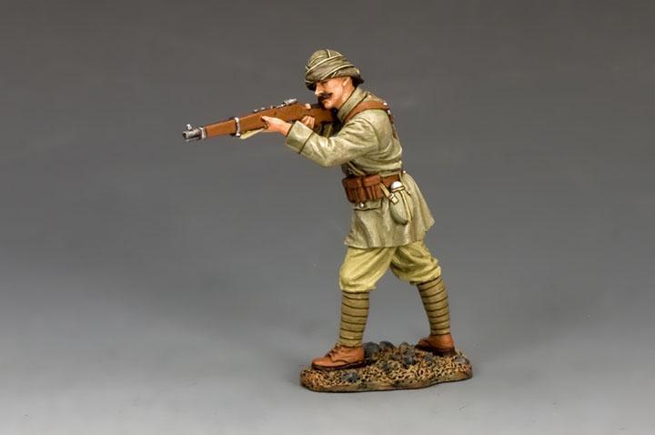 AL085 Turkish Soldier Standing Firing