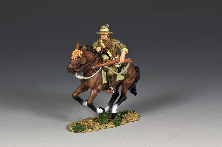 AL096 Australian Light Horse Trooper w/ Rifle