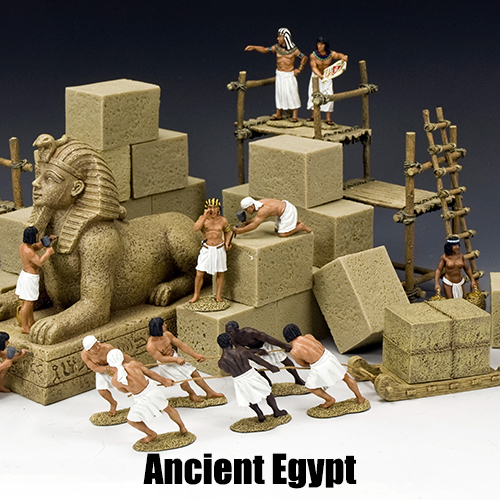 Ancient Egypt_King & Country Toy Soldiers