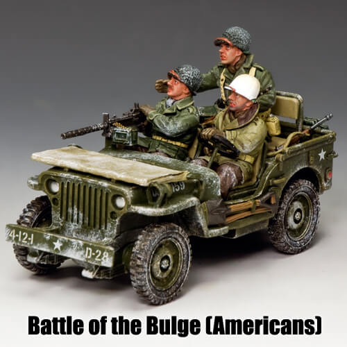 Battle of the Bulge (Americans)_King & Country Toy Soldiers