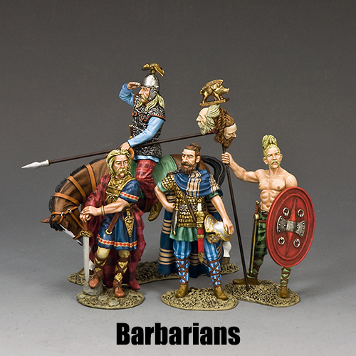 Barbarians_King & Country Toy Soldiers