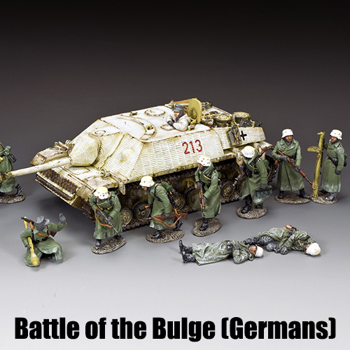 Battle of the Bulge (Germans)_King & Country Toy Soldiers